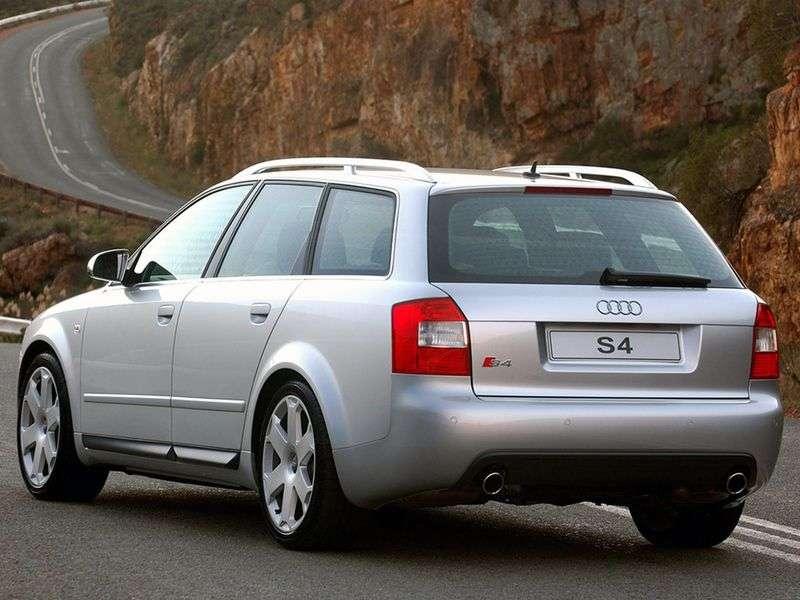 Audi S4 B6,8 Universal wagon 4.2 quattro AT (2003–2004)