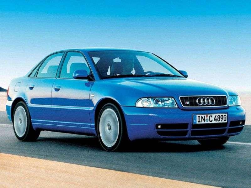 Audi S4 B5,8 Dsedan 4 bit 2.7 T MT (1997–2001)