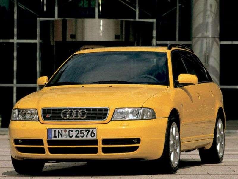 Audi S4 B5,8Duniversal 2.7 quattro MT (1997–1999)