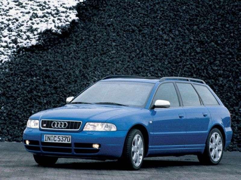 Audi S4 B5,8Duniversal 2.7 T MT (1997–2001)