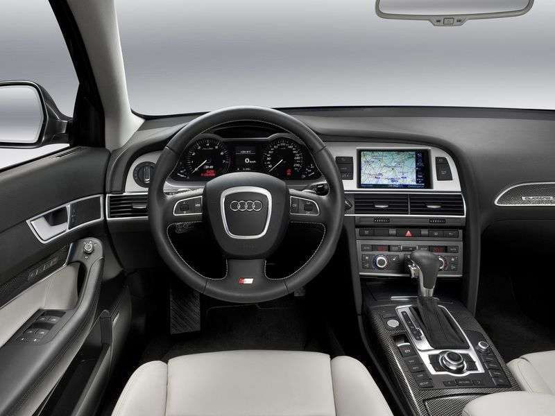 Audi S6 C6 [restyling] 5.2 FSI V10 quattro AT sedan (2008–2011)