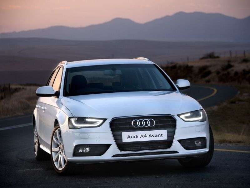 Audi A4 B8 [restyling] Avant wagon 5 dv. 2.0 TFSI quattro MT Basic (2013 – current century)