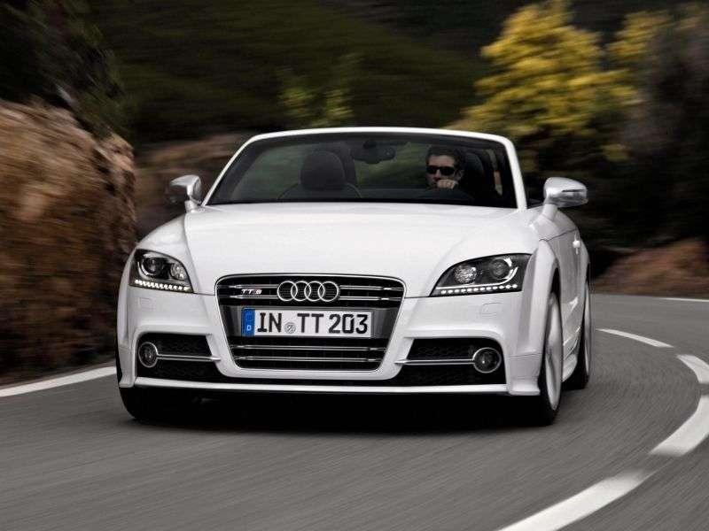 Audi TT 8J [restyling] S roadster 2 dv. 2.0 TFSI quattro MT Basic (2010–2013)