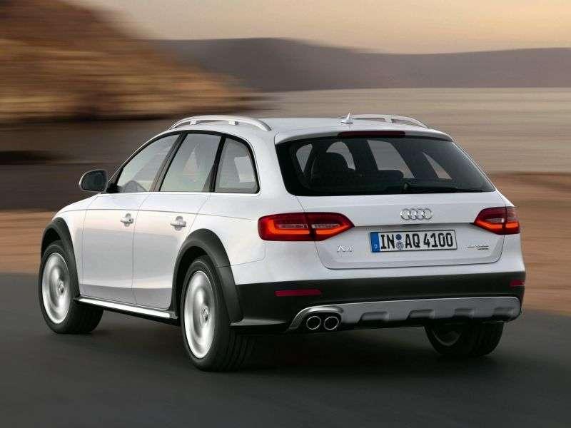 Audi A4 B8 [restyling] allroad quattro wagon 5 dv. 2.0 TFSI quattro MT Basic (2013 – current century)