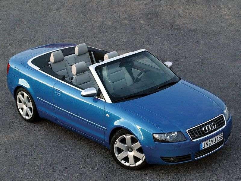 Audi S4 B6,8H Cabrio 4.2 quattro AT (2004 2005)