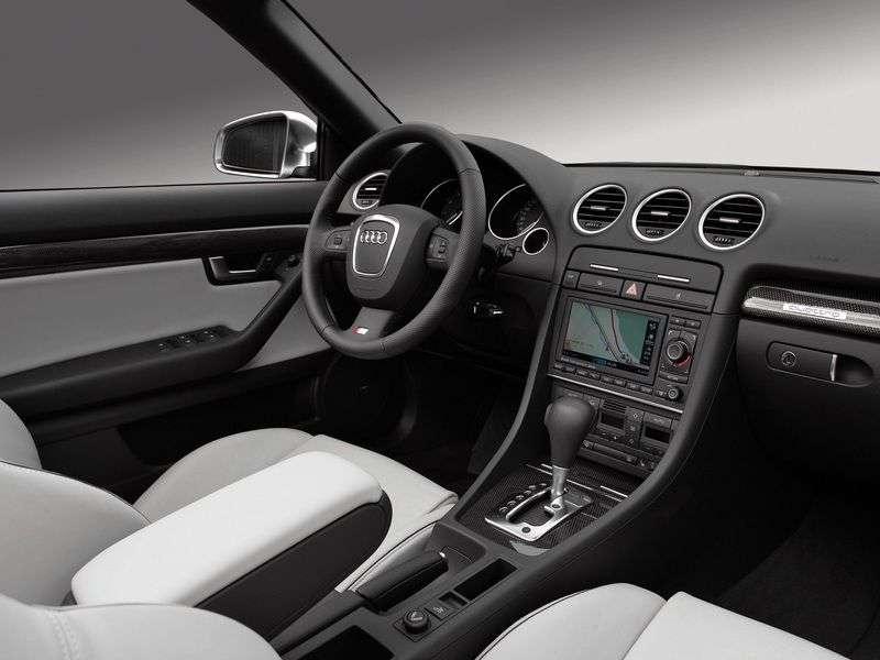 Audi S4 B7,8Ecabriolet 4.2 quattro AT (2004–2008)