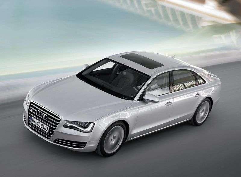 Audi A8 D4 / 4Hsedan 4.2 TDI L quattro tiptronic Basic (2010 – current century)