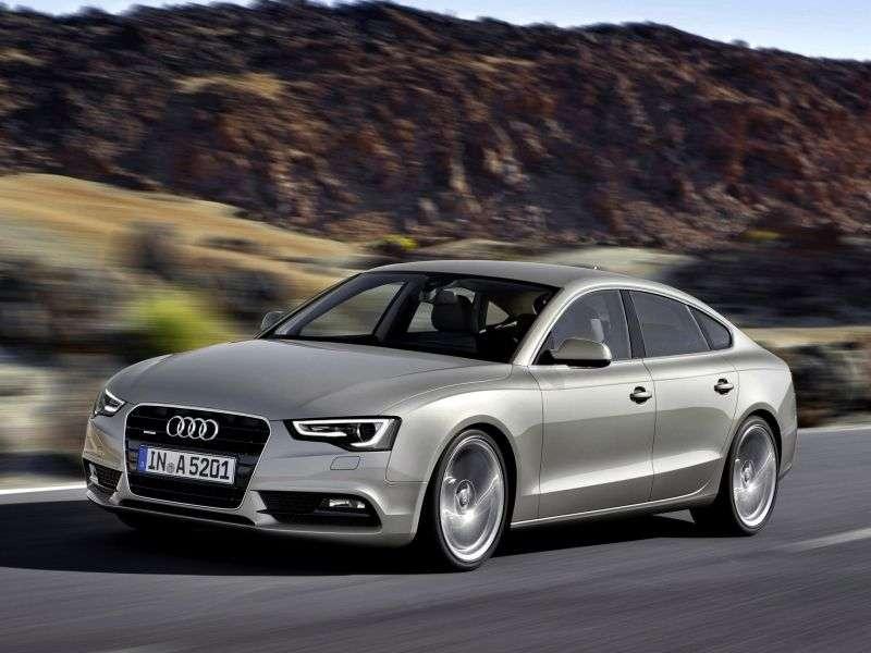 Audi A5 1st generation [restyling] Sportback liftback 2.0 TFSI quattro MT Basic (2012–2013)