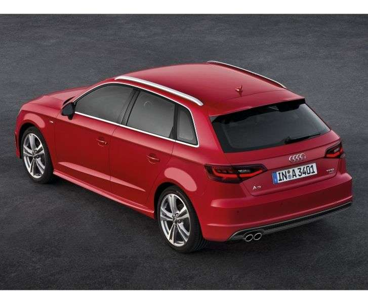 Audi A3 8VSportback hatchback 5 dv. 1.4 TFSI MT Attraction (2012 – present)
