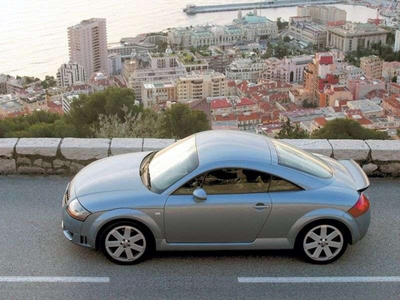 Audi TT 8N [restyling] coupe 1.8 T AT (2003–2006)