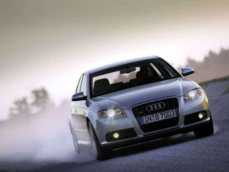 Audi S4 B7,8 Esedan 4.2 quattro MT (2004–2009)