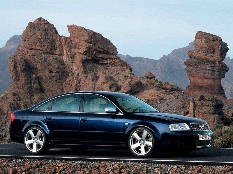 Audi RS6 C5 sedan 4.2 TFSI quattro AT (2002 2004)