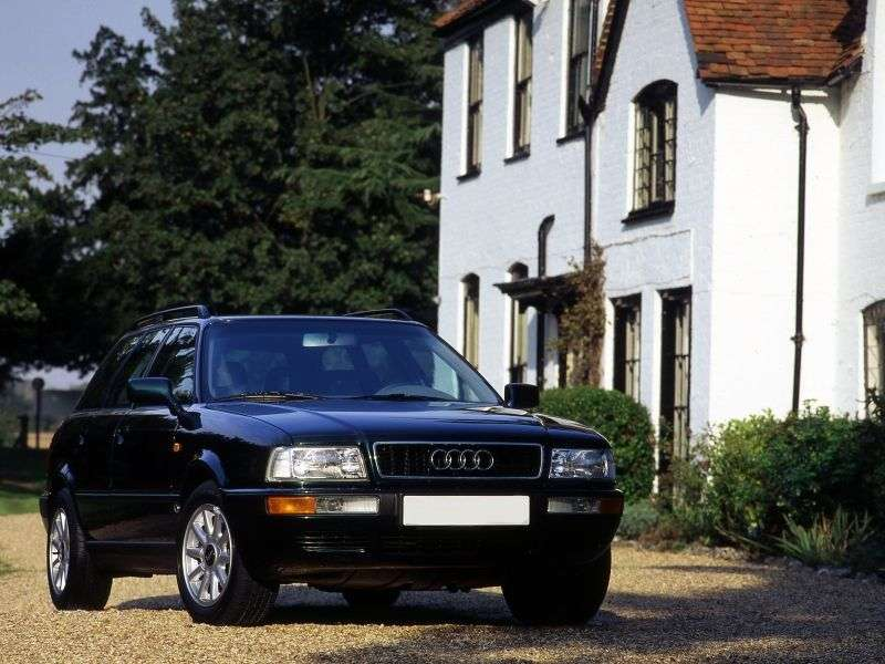 Audi 80 8C, B4universal 2.8 E MT (1991–1996)