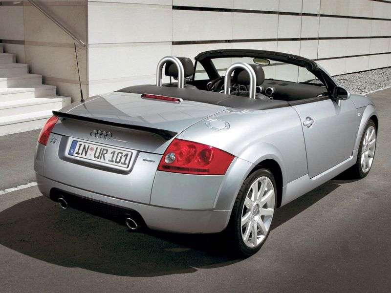 Audi TT 8N [restyling] 1.8 T MT roadster (2003–2006)