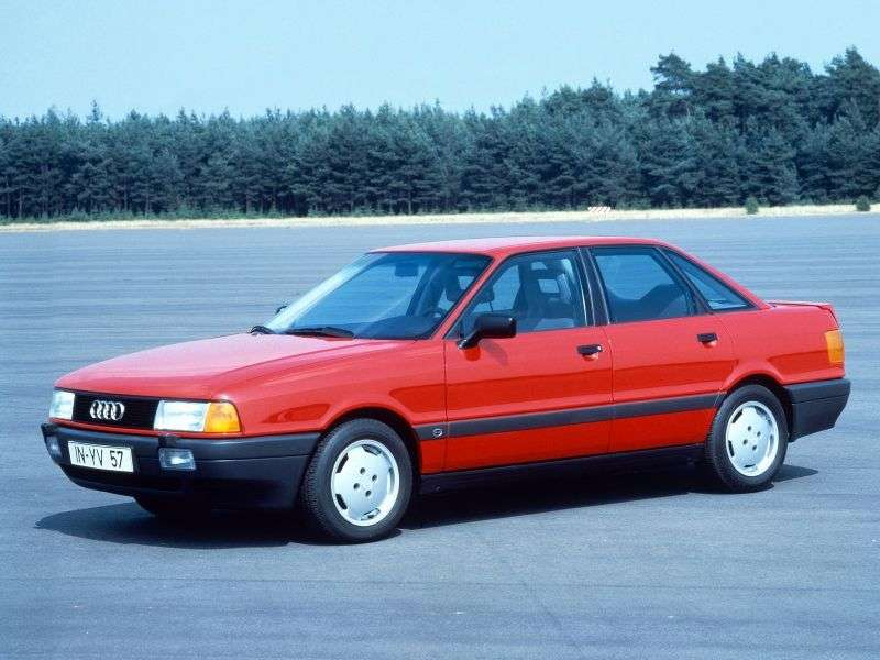 Audi 80 8A, B3sedan 2.0 E MT (1990–1991)