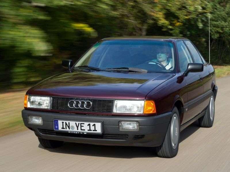 Audi 80 8A, B3sedan 1.8 MT (1986–1990)
