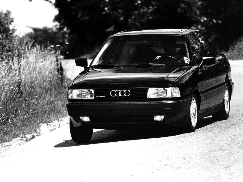 Audi 80 8A, B3sedan 2.0 E quattro MT (1990–1991)