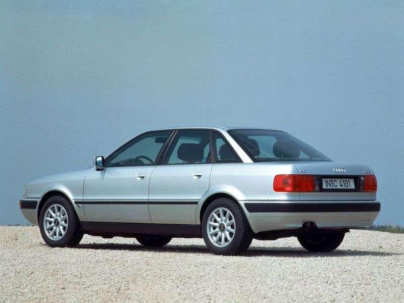 Audi 80 8C, B4sedan 2.0 E 16V MT (1991–1994)