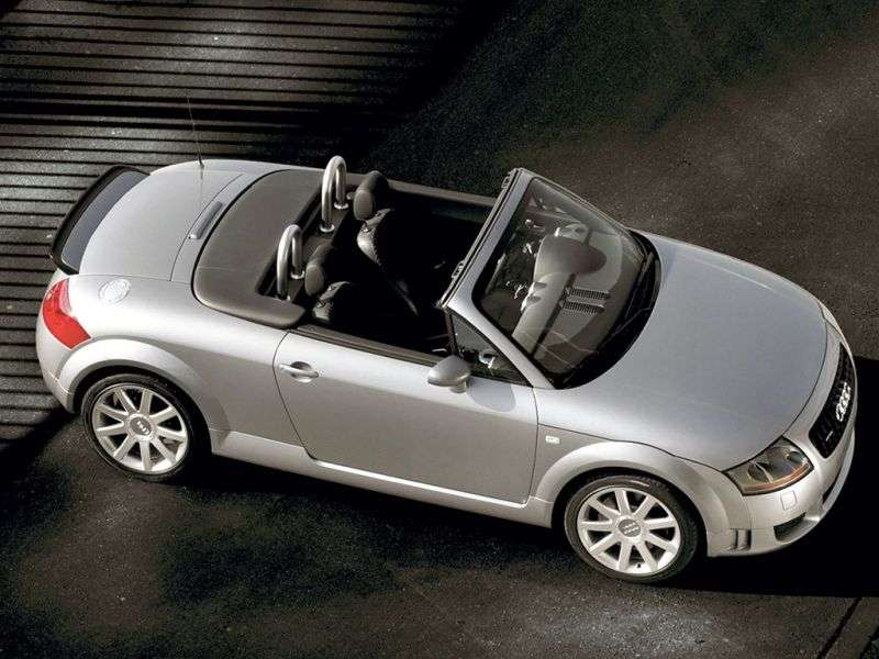 Audi TT 8N [restyling] Roadster 1.8 T AT (2003–2006)