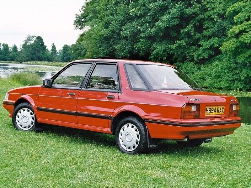 Austin Montego 1st generation 2.0 MT sedan (1984–1995)