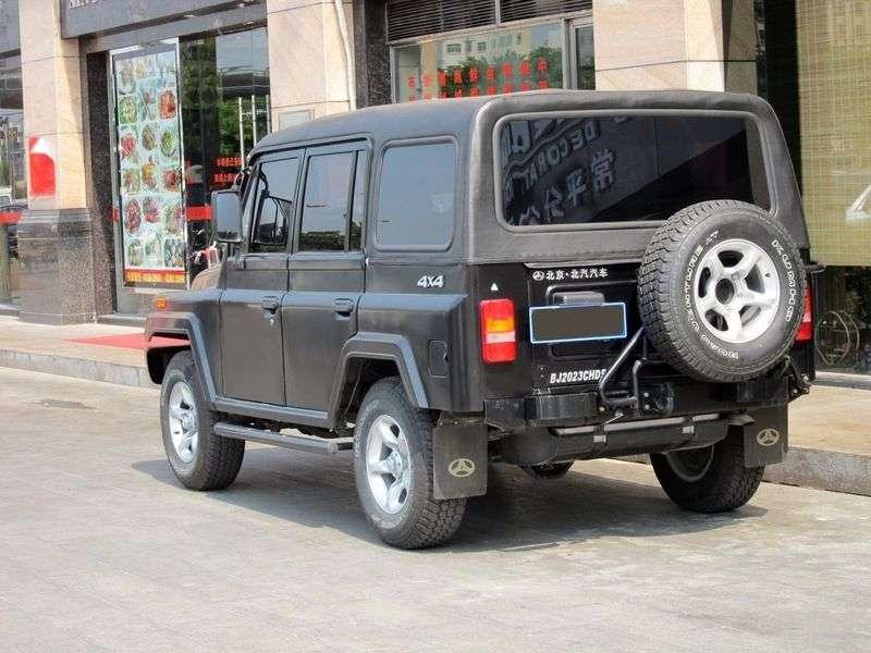 Beijing BJ 2020 1st generation SUV 2.4 MT (1989 – n. In.)