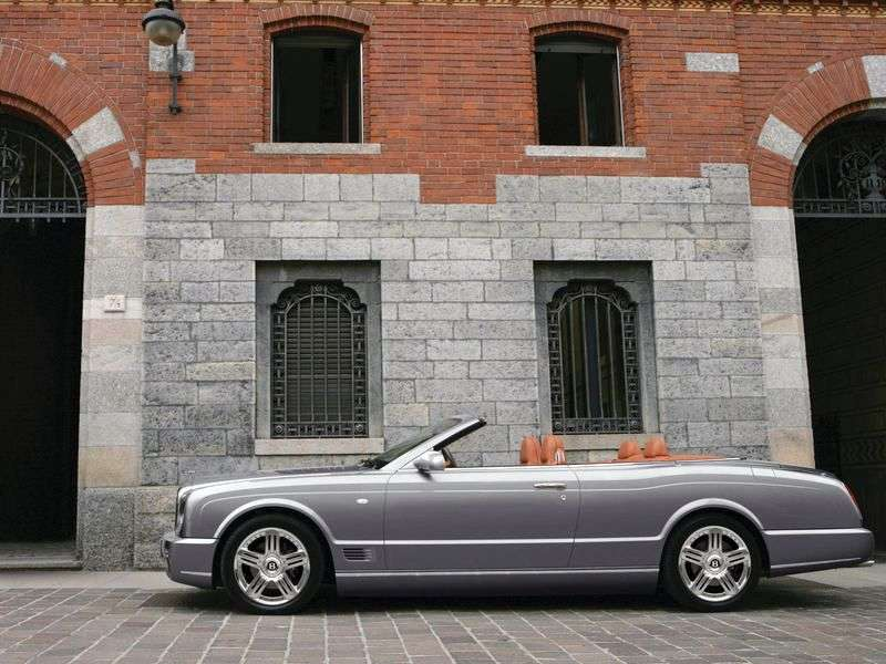 Bentley Azure 2 generation T convertible 2 dv. 6.8 Twin Turbo AT (2009–2011)