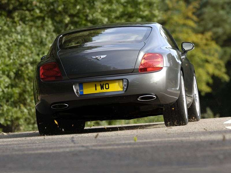 Bentley Continental GT 1st generation Speed Coupe 2 dv. 6.0i AT Twin Turbo (2008–2012)