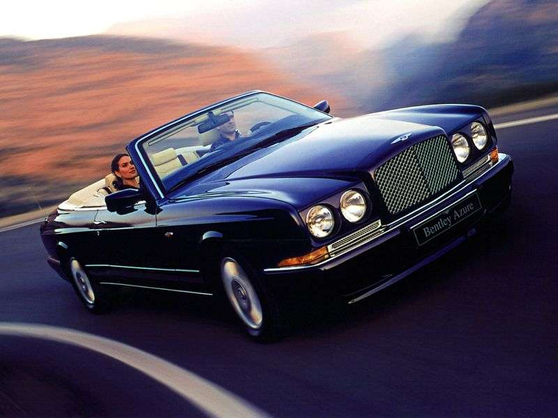 Bentley Azure 1st generation convertible 6.8 AT (1995–1998)