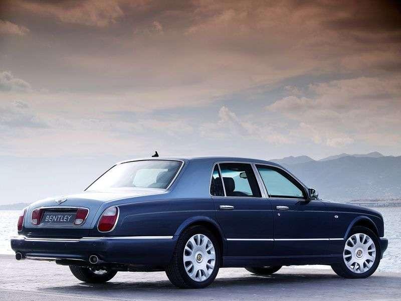 Bentley Arnage 2nd generation R 4 door sedan. 6.75 Twin Turbo AT (2002–2006)