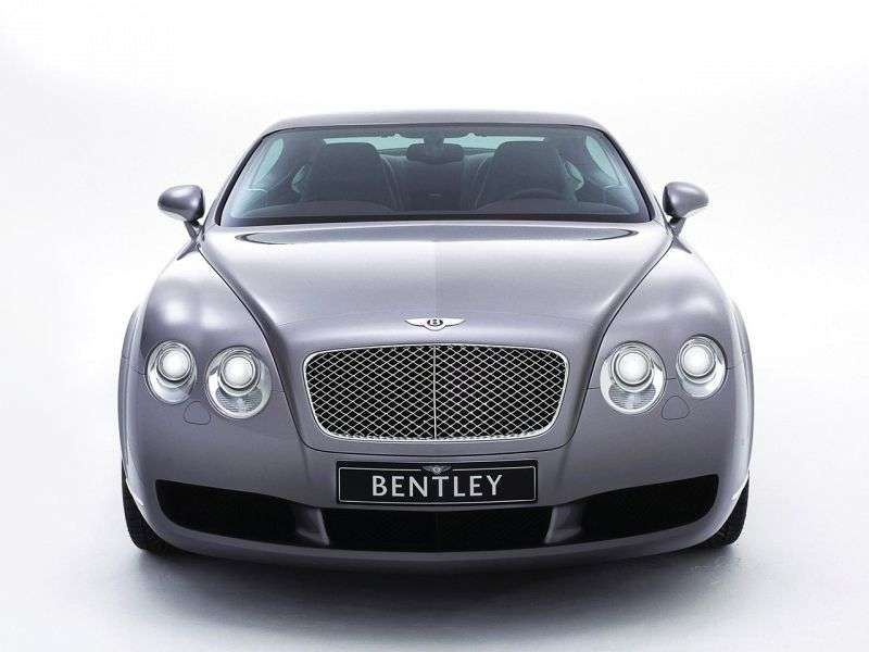 Bentley Continental GT 1st generation coupe 2 bit. 6.0 AT Twin Turbo (2003–2010)