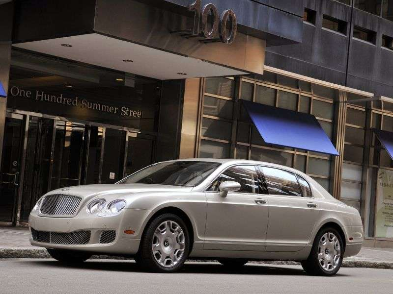 Bentley Continental Flying Spur 2nd generation [restyling] 4 door sedan 6.0 Speed ​​AT (2009–2013)