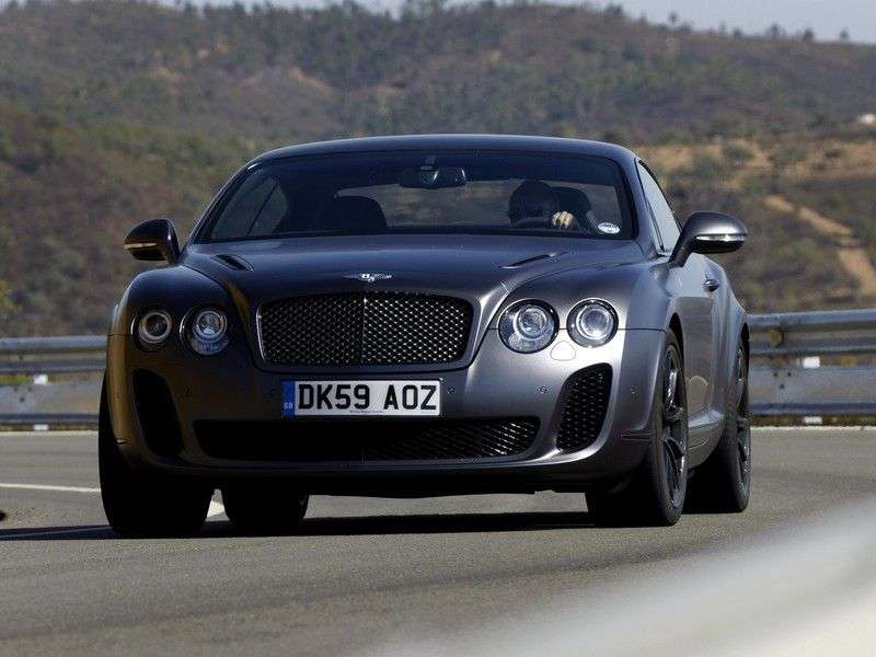 Bentley Continental Supersports 1st generation coupe 6.0 AT (2010 – n.)