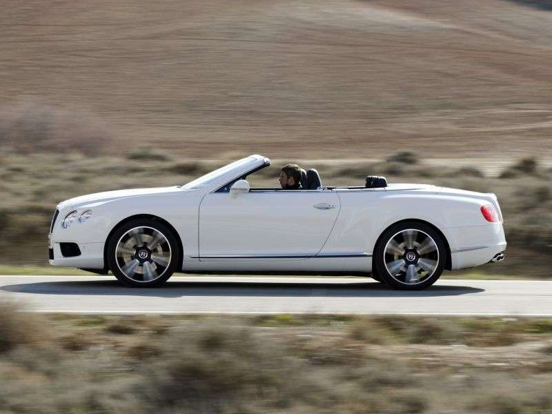 Bentley Continental GTC 2nd generation V8 convertible 2 dv. 4.0 AT (2012 – n. In.)