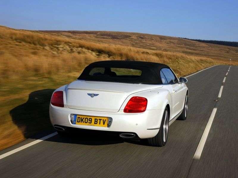 Bentley Continental GTC 1st generation convertible 2 dv. 6.0 AT (2005–2011)