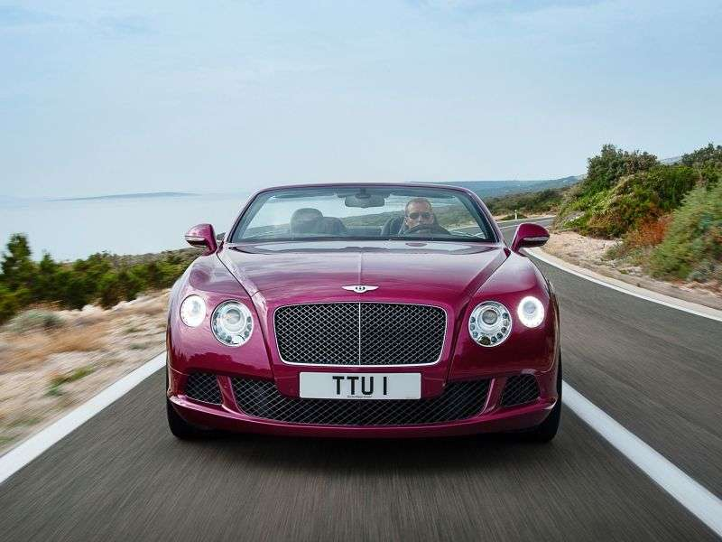 Bentley Continental GTC 2nd generation Speed ​​convertible 2 dv. 6.0 AWD AT Basic (2013 – present)