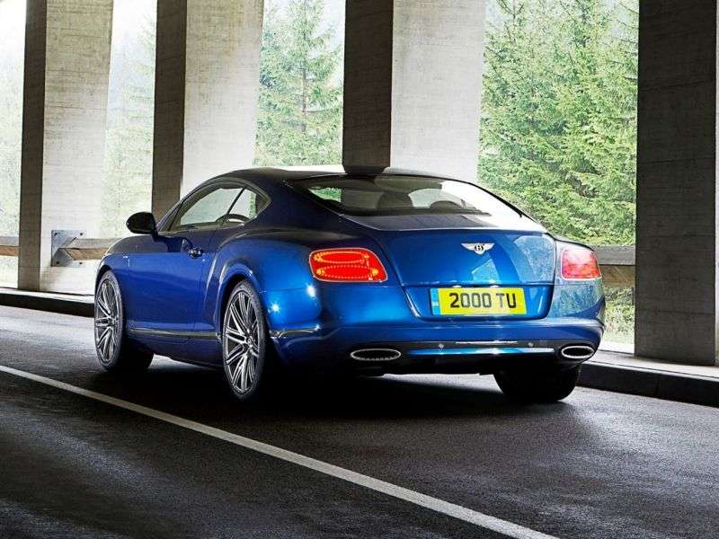 Bentley Continental GT 2nd generation Speed ​​Coupe 2 dv. 6.0 AWD AT Basic (2012 – current century)