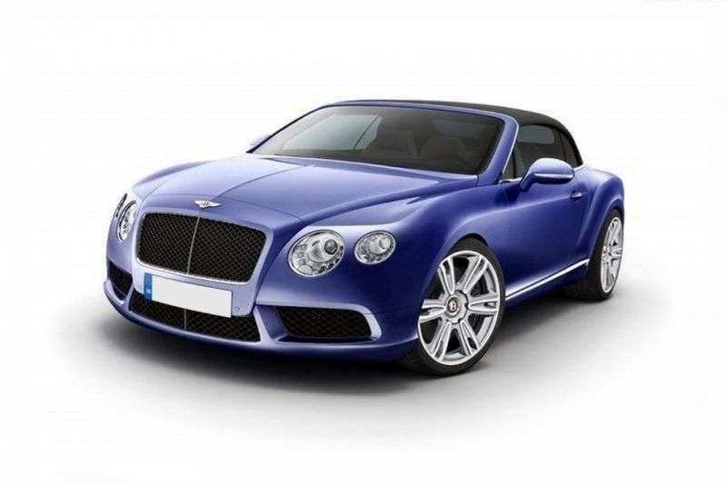 Bentley Continental GTC 2 generation convertible 2 dv. 6.0 AT (2011 – n. In.)