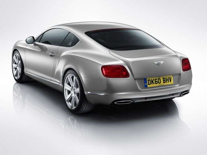Bentley Continental GT 2 generation coupe 2 bit. 6.0 AT Basic (2010 – present)
