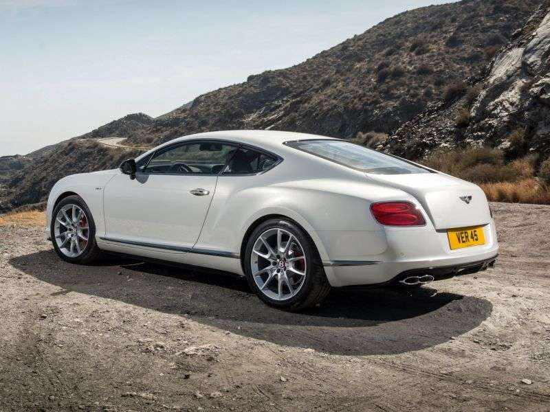 Bentley Continental GT 2nd generation V8 coupe 2 bit. 4.0 AT Basic (2012 – current century)
