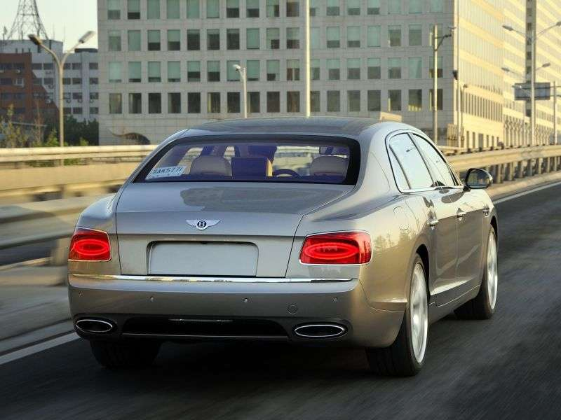 Bentley Flying Spur 1st generation sedan 6.0 W12 AWD AT Basic (2013 – v.)