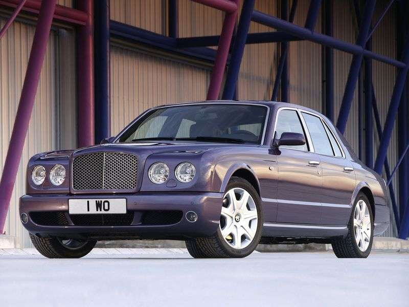 Bentley Arnage 2nd generation T 4 door sedan. 6.75 Twin Turbo AT (2002–2006)