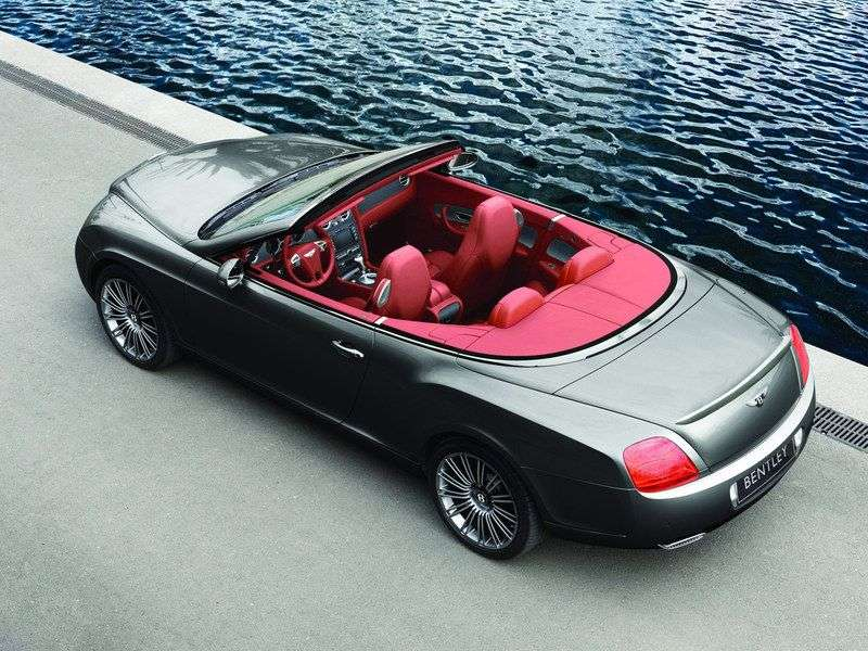 Bentley Continental GTC 1st generation Speed convertible 2 dv. 6.0 AT (2009–2011)