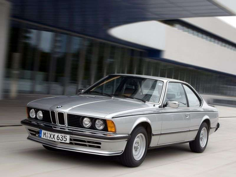 BMW 6 Series E24 [restyling] coupe 628CSi 4MT (1982–1983)
