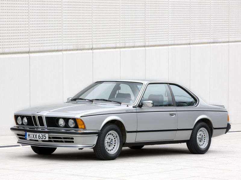 BMW 6 Series E24 [restyling] coupe 635CSi AT (1985–1987)