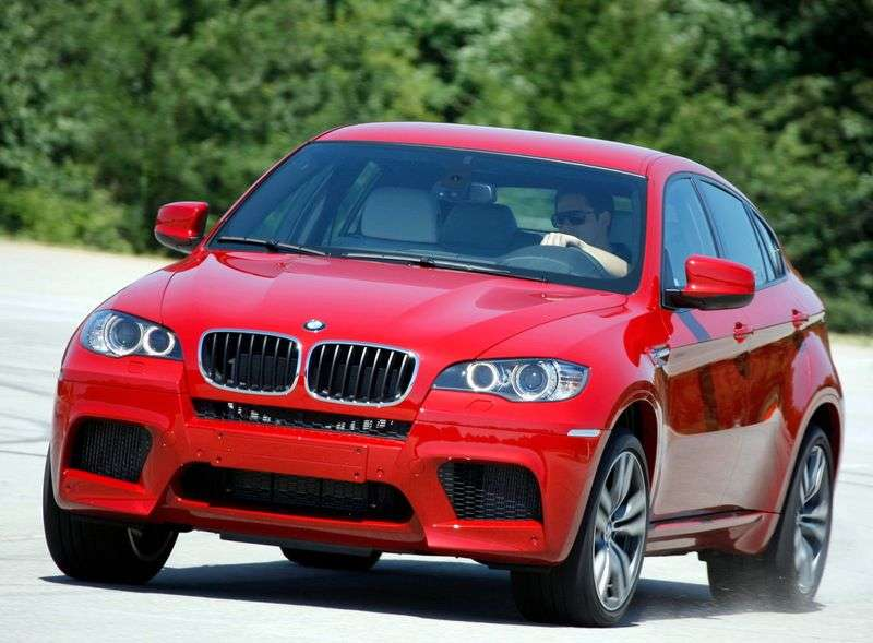 BMW M Series E71 / E72 X6Sports Activity Coupe Crossover 4.4 AT Basic (2011) (2009 – n.)
