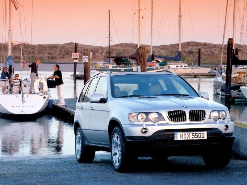 BMW X5 E53 Crossover 4.6si AT (2001–2003)