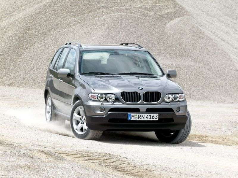 BMW X5 E53 [restyled] crossover 3.0i MT (2003–2006)