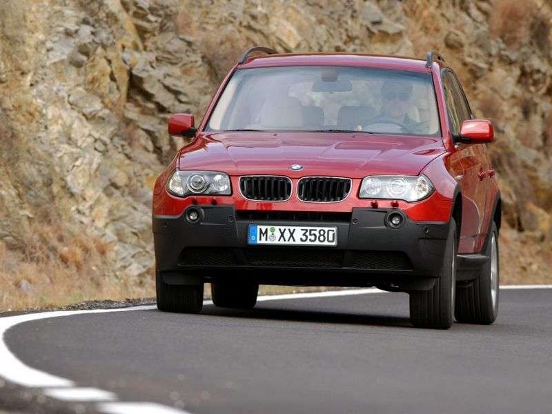 BMW X3 E83 Crossover 2.5i AT (2003–2006)