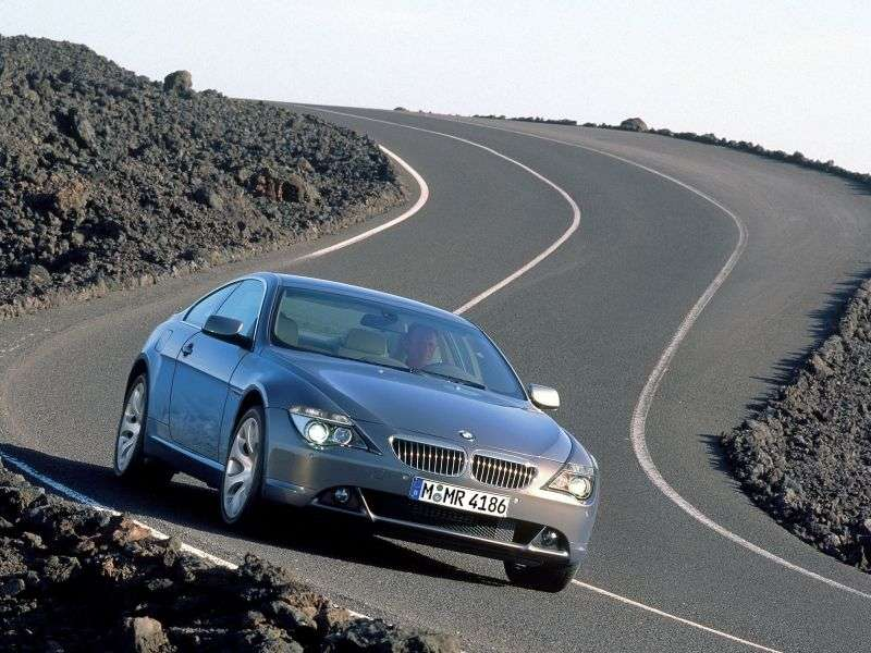 BMW 6 Series E63 / E64 Coupe 630i MT (2004–2007)