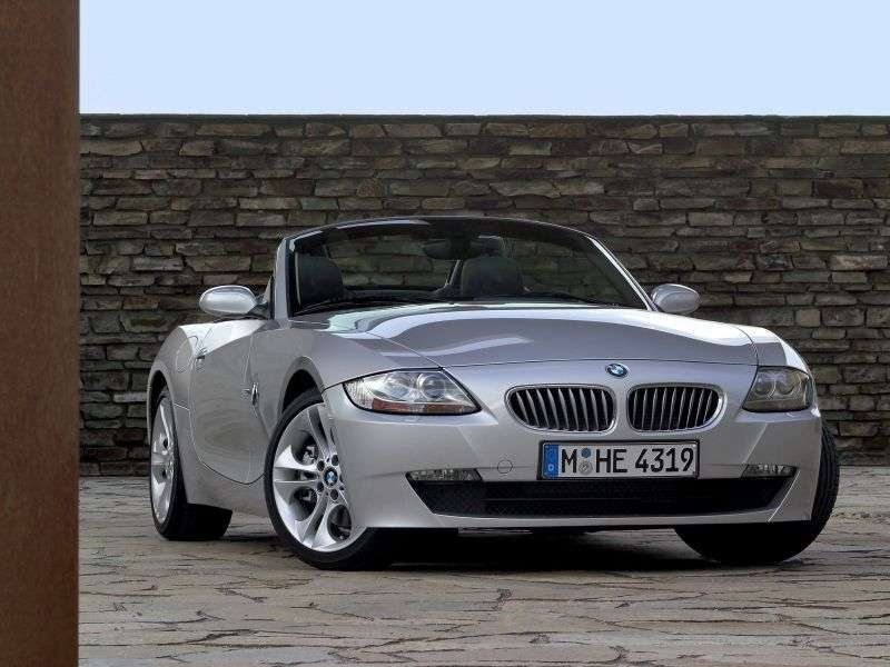 BMW Z4 E85 / E86 [restyling] Roadster 3.0si AT (2006–2008)